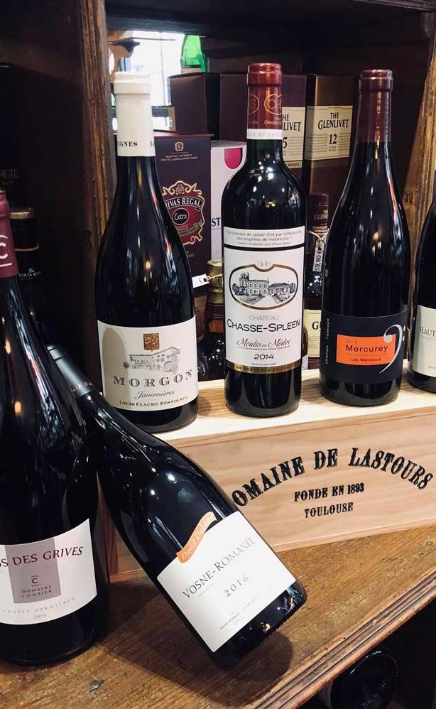 fine sélection des vins de France à Toulouse
